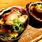 炉ばた焼 大蔵屋 - 北海道産活ホタテ貝のバター焼 300円