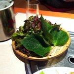 福吉家 - ゴマの葉