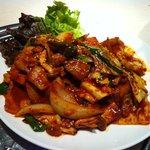 福吉家 - 豚肉と味噌を炒めた料理