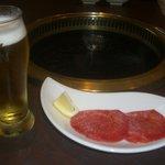 和喰 - ランチビールとちょこっと塩タン
