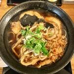 天狗庵 - 料理写真:肉旨み正油そば