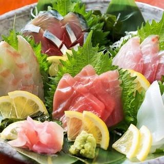■長浜鮮魚市場■から毎朝仕入れる魚は絶品