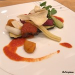 Guranvunuru - 岩手県産 黒毛和牛フィレ肉のステーキ トマトソース
