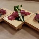 肉いち枚 - 肉寿司1貫