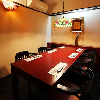 【個室10室完備】和個室で、観光・接待・慶事・法事・宴会に。