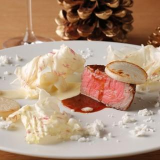 【予約受付中】テラスレストランで愉しむ豪華クリスマスコース