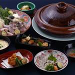 京料理 かじ - ふぐちりコース(9月~4月)