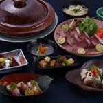 京料理 かじ - 料理写真:鰤しゃぶコース(11月中~4月)