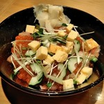 SUSHI TOKYO TEN、 - [料理] バラ散らし丼 全景♪w