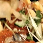 SUSHI TOKYO TEN、 - [料理] バラ散らし 具材のアップ♪w