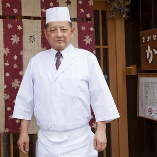 【現代の名工】に選ばれた職人が作る京料理の神髄を堪能