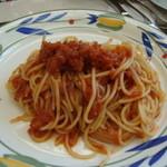 ジェノバ - トマトのパスタ(名前思い出せず…)