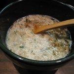 麺屋かまし - スープ