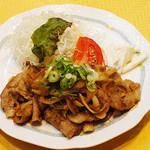バードランド 2 - 豚ロースしょうが焼き定食