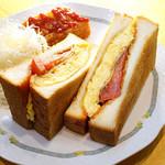 バードランド 2 - 厚切り玉子のトーストサンド