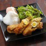 Villabli Garden - 【アラカルト】もち米とうずら卵の揚げ春巻き