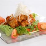 Villabli Garden - 【アラカルト】若鶏の唐揚げユーリンソース