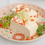 Villabli Garden - 【前菜】豆腐の葱ソース掛け
