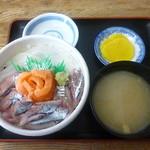 のんのん - 三色丼 2017.9月