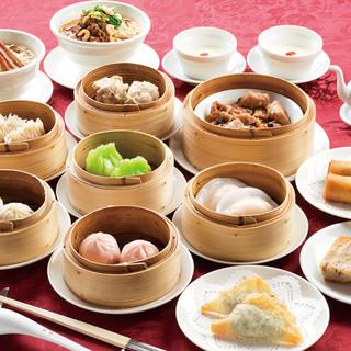 自慢の香港点心を満喫!「飲茶三昧」