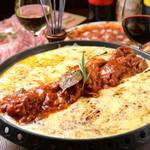 Ponte名物!!イタリアンチーズタッカルビ クアトロフォルマッジョ