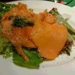 オットー - スモークサーモンと野菜のマリネ