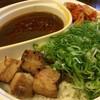 元祖★台湾カレー - 料理写真:炙りトロ肉台湾カレー+九条ねぎ
