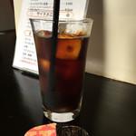 焼鳥○ - ドリンク写真:アイスコーヒー。