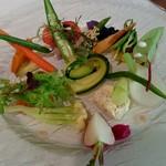 73907382 - 季節野菜の盛り合わせ