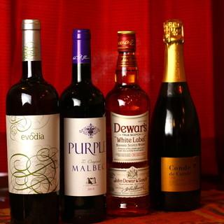 【グラスワイン10種】品種別のワインをうすはりグラスで堪能
