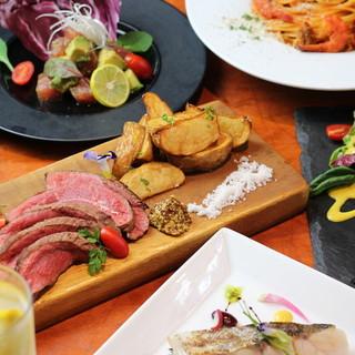 数量限定のステーキや食べログ限定のコース料理をご提供!