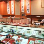 住吉菓庵 喜久寿 - 店内の一角(2017.8月)