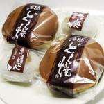 住吉菓庵 喜久寿 - どら焼き180円、赤まえだれ130円を購入