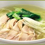 鶏肉タンメン
