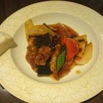 中国菜はら川 - 酢豚 蒸しパン付き♪