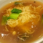 中国菜はら川 - 気仙沼ふかひれ汁麺♪