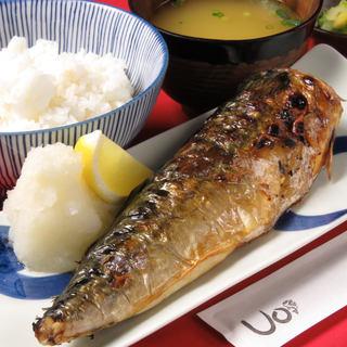 Uo - 塩サバ定食