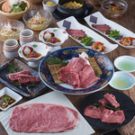 焼肉居酒家 韓の台所 - 山形牛堪能コース(4,800円+税)