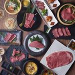 焼肉居酒家 韓の台所 - ご褒美コース(6,800円+税)