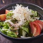 焼肉居酒家 韓の台所 - チョレギサラダ