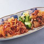 焼肉居酒家 韓の台所 - キムチ4種盛り