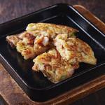 焼肉居酒家 韓の台所 - 海鮮具だくさんチヂミ