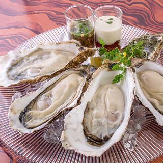 秋の旬:生牡蠣食べ放題