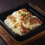 焼肉居酒家 韓の台所 - チーズチヂミ