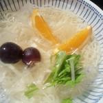 寿々喜 そば店 - 料理写真:冷麦(秋バージョン♪)