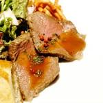 73915402 - 京都牛もも肉のオーブン岩塩焼き!!(。・ω・。)ノ♡
