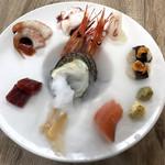 旬鮮台所 ZEN - 本日のお刺身盛り合わせ