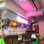 マドッシュカフェ - オリジナルアボペチーノを作るシロップコーナー