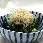 旬鮮台所 ZEN - 梅たたききゅうり