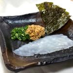旬鮮台所 ZEN - やりいか納豆